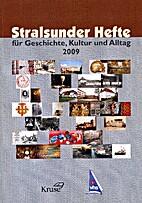 Stralsunder Hefte für Geschichte, Kultur…