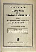 Geodäsie und Photogrammetrie 1.…