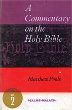 A Commentary on the Holy Bible:…