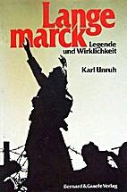 Langemarck - Legende und Wirklichkeit by…