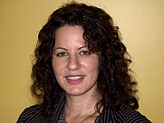 """Author photo. Lori Verni-Fogarsi, author of """"Momnesia,"""" women's fiction release 3/16/12, and """"Everything You Need to Know About House Training Puppies and Adult Dogs,"""" 2005."""