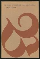 The Drama of Language: Essays on Goethe and…