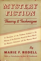 Mystery Fiction: Theory and Technique by…