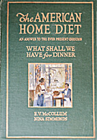 The American Home Diet: An Answer to the…