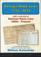 Georgia name lists 1733 - 2010 with a…