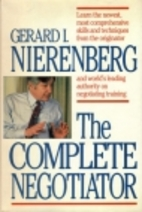The Complete Negotiator by Gerard I.…