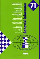 Chess Informant 71 by Aleksandar Matanović
