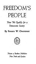 Freedom's people, how we qualify for a…
