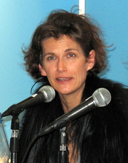 "Author photo. Janne Teller - Leipzig Book Fair 2011 By Lesekreis - Own work, CC0, <a href=""https://commons.wikimedia.org/w/index.php?curid=14683571"" rel=""nofollow"" target=""_top"">https://commons.wikimedia.org/w/index.php?curid=14683571</a>"