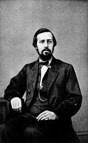 Author photo. Image from <b><i>E. P. Roe; reminiscences of his life</i></b> (1899) by Mary Abigail Roe