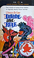 Divide and Rule by L. Sprague de Camp