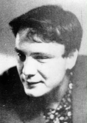 Author photo. Vladimir Buskovsky in his 20s [credit: Wikimedia Commons user Voronov]