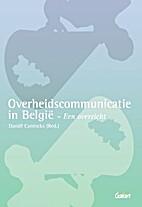 Overheidscommunicatie in België - Een…