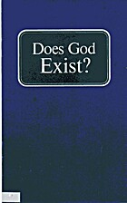Does God Exist? by Herbert W. Armstrong