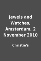 Jewels and Watches, Amsterdam, 2 November…