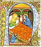 Miniature di Baldello da Pavia dalla Bibbia…