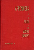 Appendices to a study of the master…