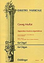 Apparatus musico-organisticus : Heft 4…