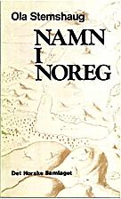 Namn i Noreg : ei innføring i norsk…