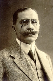 Author photo. Eduard Vilde, 1911