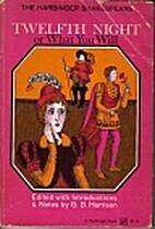 Twelfth Night (Norton Critical Edition) by…