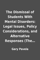 The Dismissal of Students With Mental…