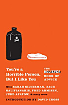 You're a Horrible Person, But I Like…