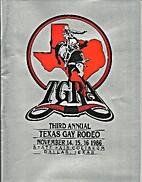 Third Annual Texas Gay Rodeo (Dallas --…