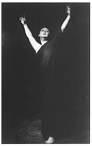 Author photo. Isadora Duncan (1877-1927)<br> photo by Arnold Genthe