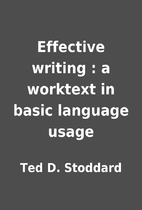 Effective writing : a worktext in basic…