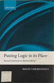 Putting Logic in its Place: Formal…