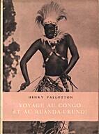 Voyage au Congo et au Ruanda-Urundi (Carnet…