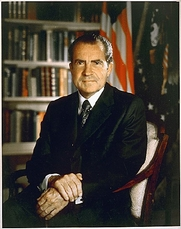 Author photo. Official U.S. Presidential Portrait (National Archives & Recores)