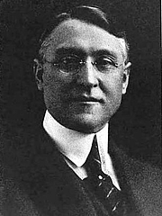 Author photo. Albert E. Bowen (from Utah since statehood, historical and biographical, Volume 4, page 585)