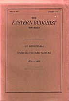 The Eastern Buddhist New Series - Vol. II…