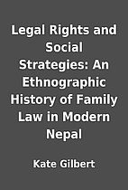 Legal Rights and Social Strategies: An…