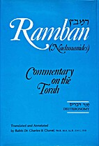 Ramban Commentary: Deuteronomy by Rabbi Dr…