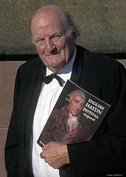 Author photo. Prof. H.C. Robbins Landon, Photo by Eddie Brown/English Haydn Festival