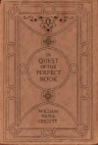 In quest of the perfect book : reminiscences…