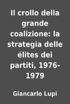 Il crollo della grande coalizione: la…