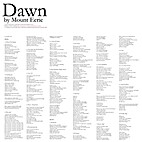 Dawn by Mount Eerie