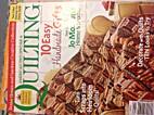 AMERICAN PATCHWORK & QUILTING Magazine…