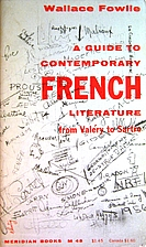 A guide to contemporary French literature:…