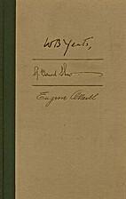 Gedichten, toneel by W. B. Yeats