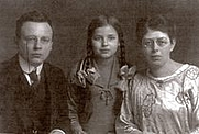 Author photo. The author, on the left, with his family.