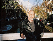 Author photo. Chris Hables Gray in Amsterdam