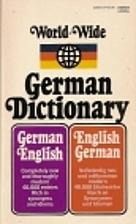 Follett World-Wide German Dictionary by Paul…
