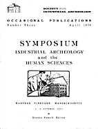 Symposium : Industrial Archeology and the…