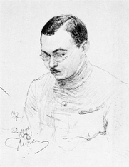 Author photo. Image from <b><i>La guerre en Russie et en Sibérie</i></b> (1922) by Lodewijk Hermen Grondijs