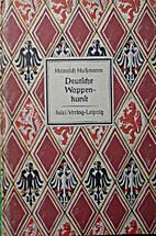 Deutsche Wappenkunst by Heinrich Hussmann